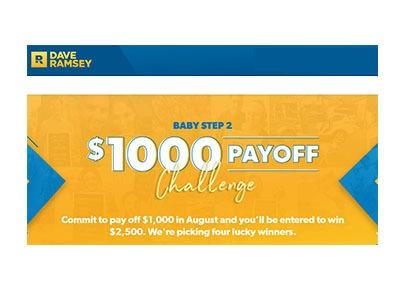 Dave Ramsey Debt Payoff Challenge