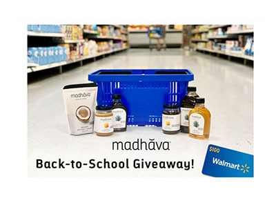 Madhava Back to School Giveaway