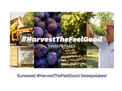 Sunsweet Harvest The Feel Good Sweepstakes