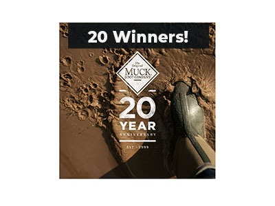 Muck Boot 20th Anniversary Giveaway