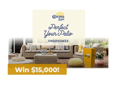 ! Perfect Your Patio Sweepstakes - Ends Sept 6th