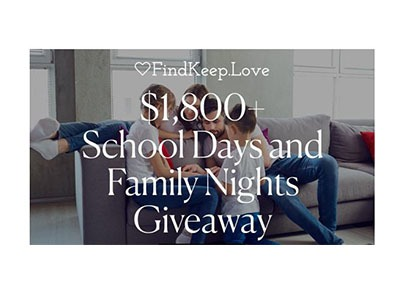 School Days and Family Nights Giveaway