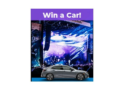 Honda Stage Car Sweepstakes