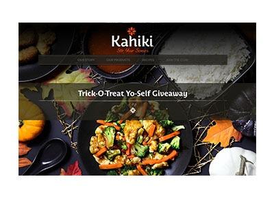 Kahiki Trick-O-Treat Yo-Self Giveaway