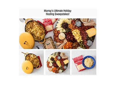 Murray's Ultimate Holiday Hosting Sweepstakes