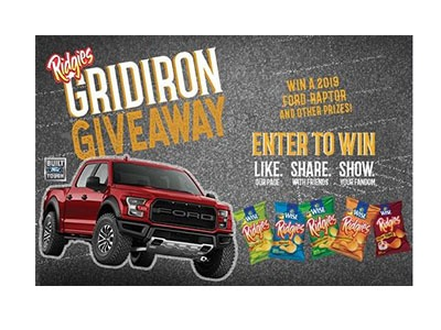 Ridgies Gridiron Giveaway