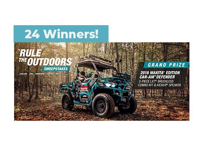 Makita Rule The Outdoors Sweepstakes