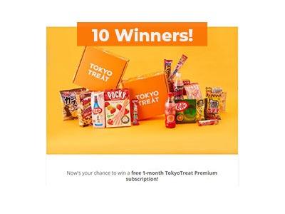 Win a Tokyo Premium Subscription Box