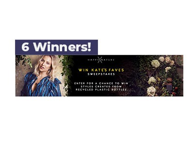 Win Kate's Faves Sweepstakes