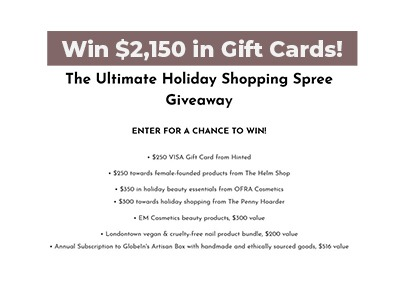 Ultimate Holiday Shopping Spree Giveaway