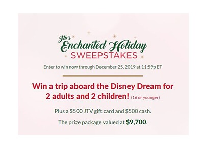 JTV's Enchanted Holiday Sweepstakes