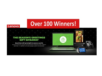 Lenovo Seasons Greetings Giveaway