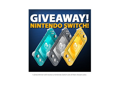 Nintendo Switch Lite Giveaway