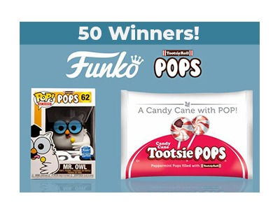 Tootsie Roll Funko Pop Giveaway