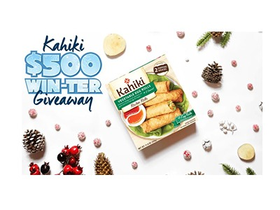 Kahiki Winter Sweepstakes