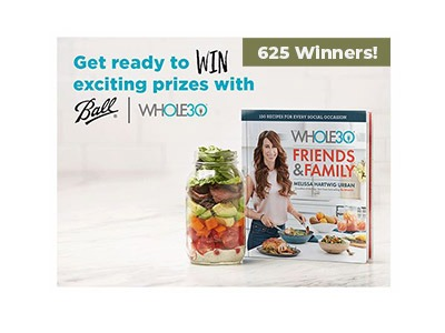 Ball Whole 30 Instant Win Game