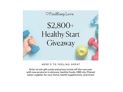 Healthy Start Giveaway