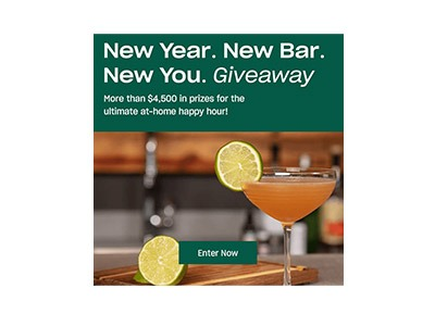 New Year New Bar New You Giveaway