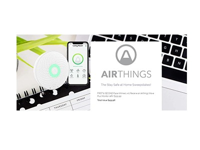 Airthings Wave Plus Monitor Giveaway