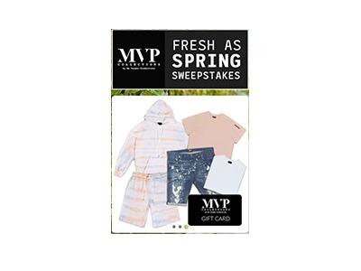 MVP Fresh As Spring Sweepstakes