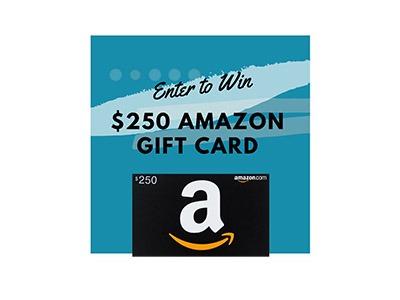 Win a $250 Amazon Gift Card