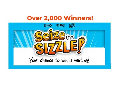 Heinz Seize the Sizzle Sweepstakes