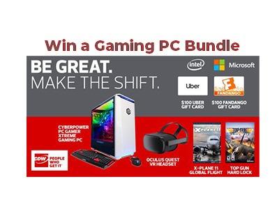 Intel Gaming PC Bundle Giveaway
