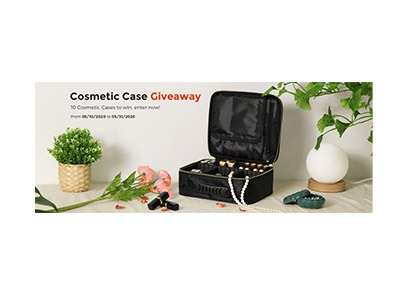 SONGMICS Cosmetics Case Giveaway