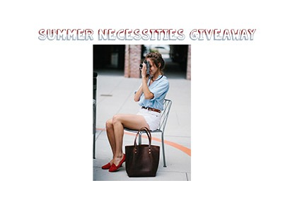Summer Necessities Giveaway
