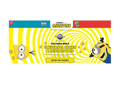 Nabisco Minions Instant Win Sweepstakes