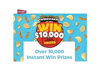 Herr's Chips Summer Instant Win Sweepstakes
