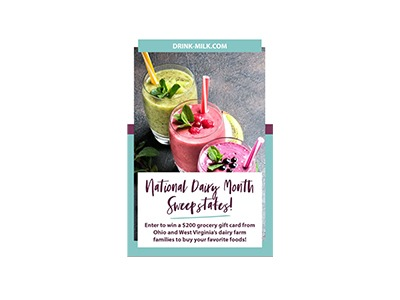 National Dairy Month Sweepstakes