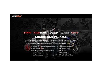 Revzilla 2020 Yamaha Motorcycle Giveaway