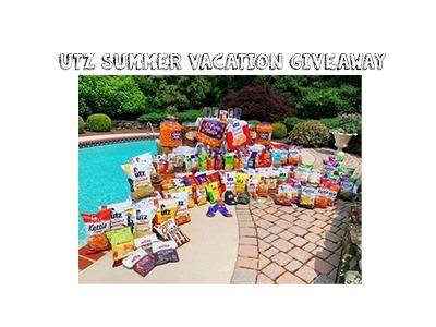 UTZ Summer Vacation Giveaway