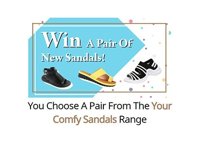 Win a Brand New Pair of Sandals