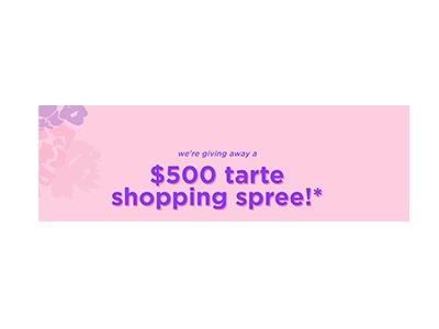 Win a Tarte Cosmetics Shopping Spree