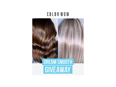 Color Wow Dream Smooth Summer Sweepstakes