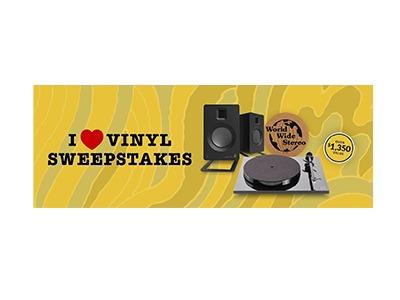 I ❤ Vinyl Sweepstakes