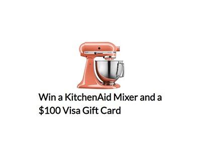 California Cantaloupe's KitchenAid Mixer and $100 Visa Gift Card Giveaway