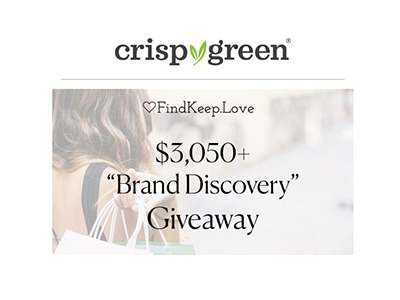 FindKeep Love Brand Discovery Giveaway