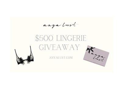 Anya Lust Date Night Giveaway