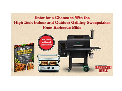 Barbeque Bible High Tech Outdoor Grilling Sweepstakes